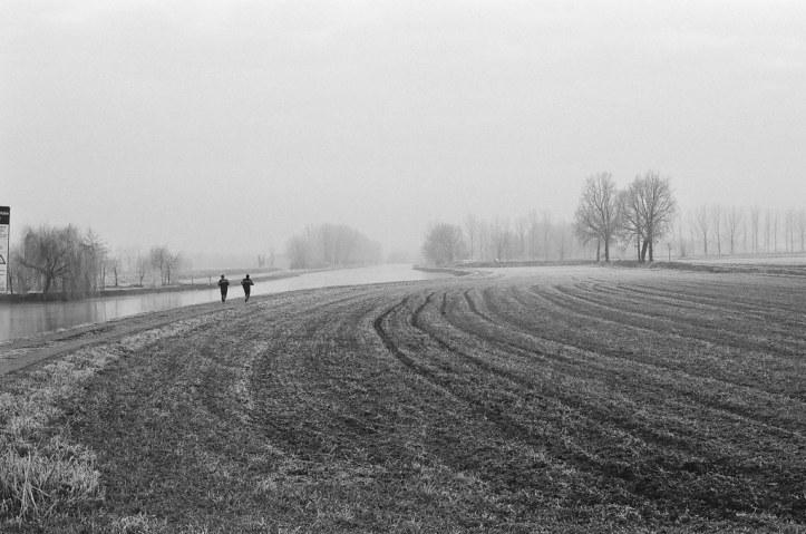 black-and-white-field-jogger-jogging